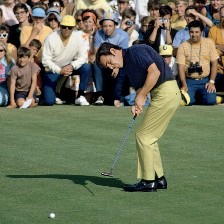"""Tony Jacklin - """"Hello There T.J.!"""" - the Tip That Won the U.S. Open"""" SHORT TRACK"""