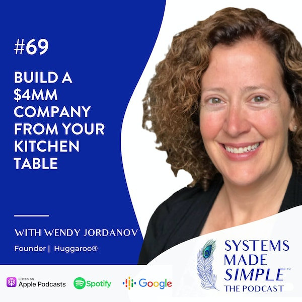 Build a $4MM Company From Your Kitchen Table with Wendy Jordanov Image