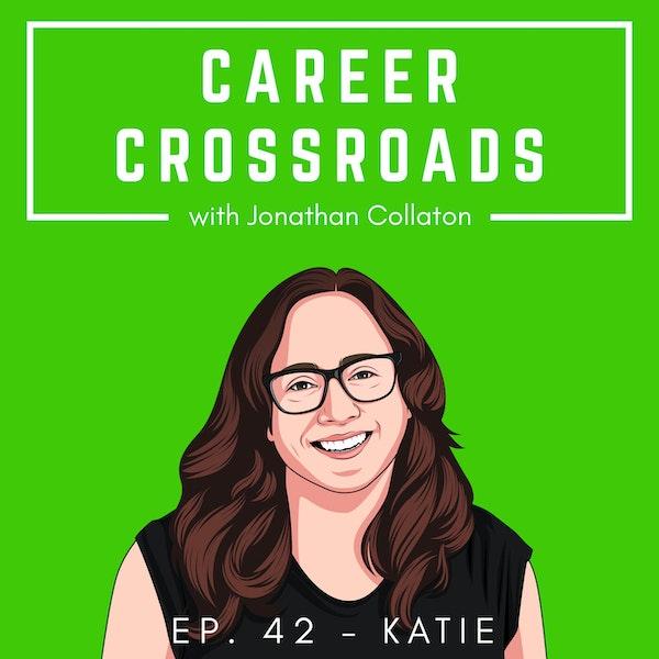 Katie - From Aquatics, to Journalism, to Teaching Image