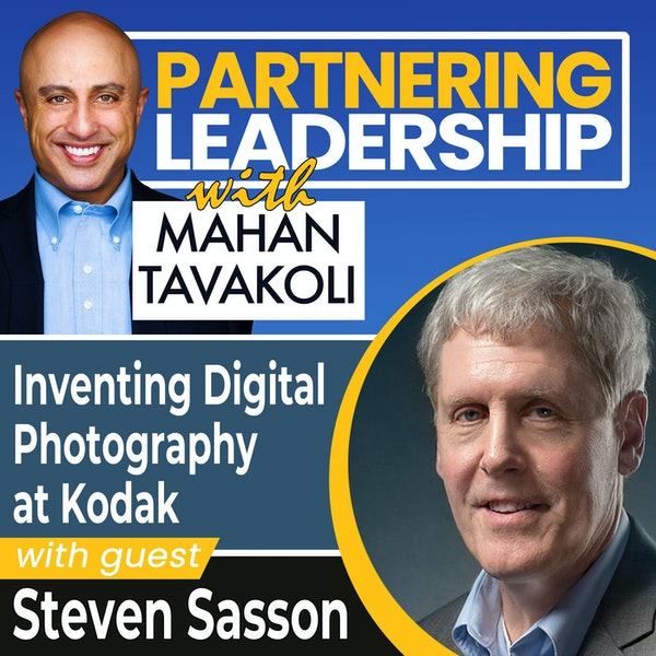 Inventing Digital Photography at Kodak with Steven Sasson | Thoughtleader Image