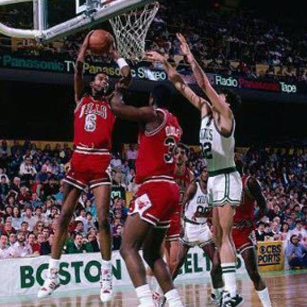Michael Jordan's third NBA season - December 31, 1986, through January 14, 1987 - NB87-6 Image