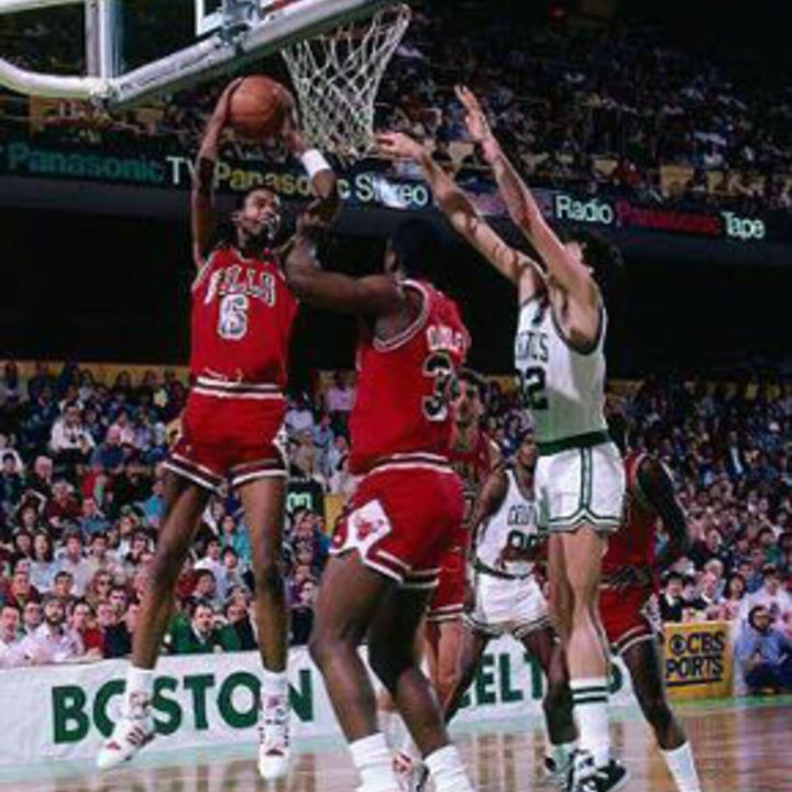 Michael Jordan's third NBA season - December 31, 1986, through January 14, 1987 - NB87-6