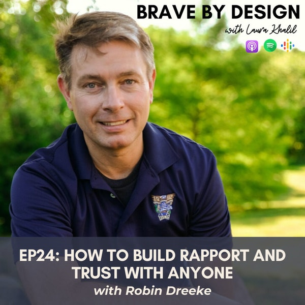 How to Build Rapport and Trust with Anyone with Robin Dreeke Image