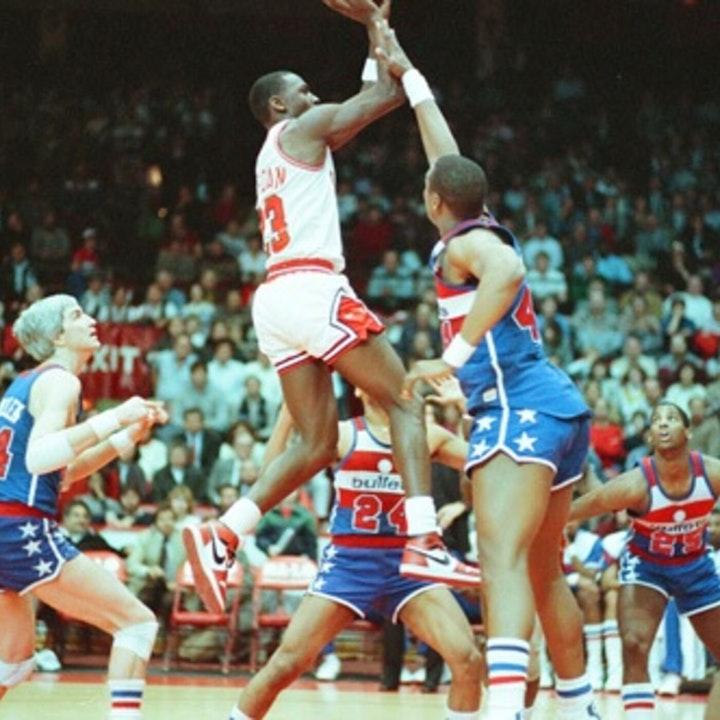 Michael Jordan's rookie NBA season - February 23 through March 9, 1985 - NB85-23