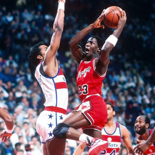 Michael Jordan's rookie NBA season - March 10 through 24, 1985 - NB85-24 Image