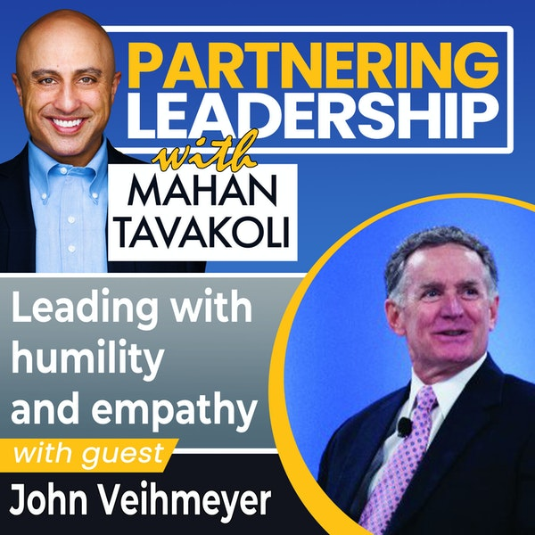 Leading with humility and empathy withJohn Veihmeyer |Changemaker Image
