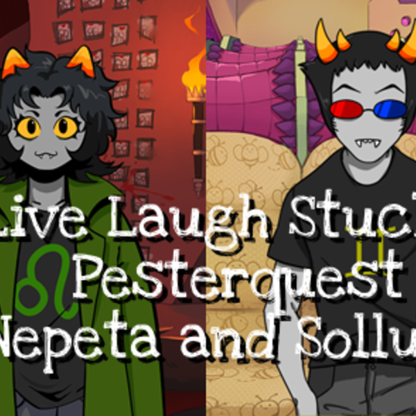 PQ8: Nepeta and Sollux Image