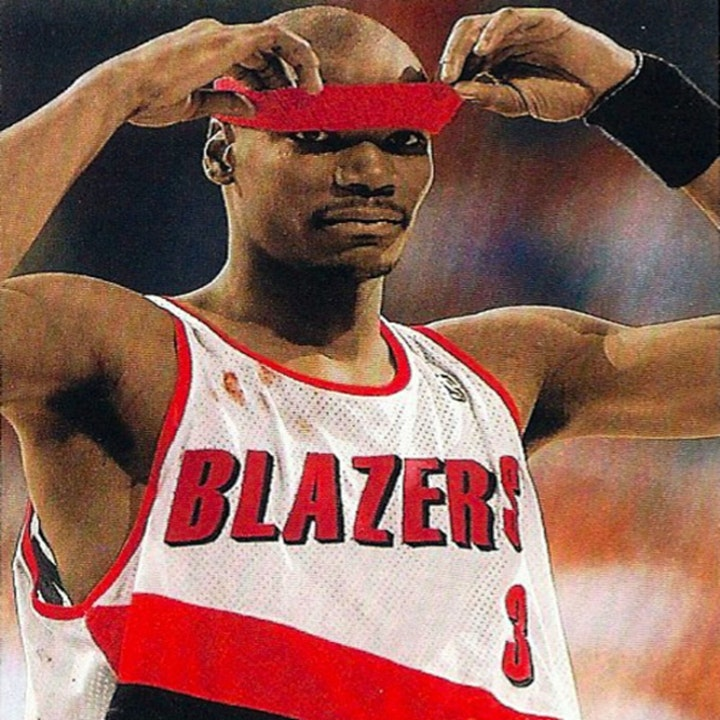 Cliff Robinson: Portland Trail Blazers great and NBA Iron Man - AIR006