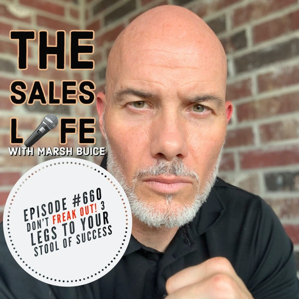 660. Don't FREAK OUT! 3 Legs To Your Stool Of Success