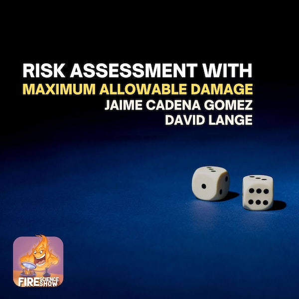 023 - Risk assessment with Maximum Allowable Damage with Jaime Cadena Gomez and David Lange