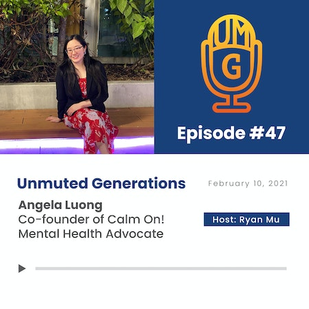 Angela Luong: Mental Health Advocacy with Co-founder of Calm On! Image