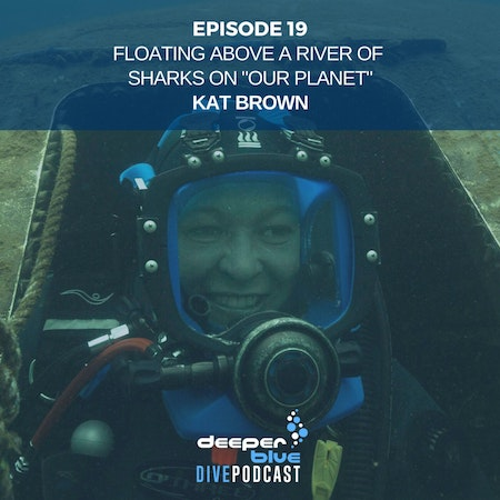 """Floating Above A River of Sharks on """"Our Planet"""" with Kat Brown, and Getting All Techie With It In New Dive Computers Image"""
