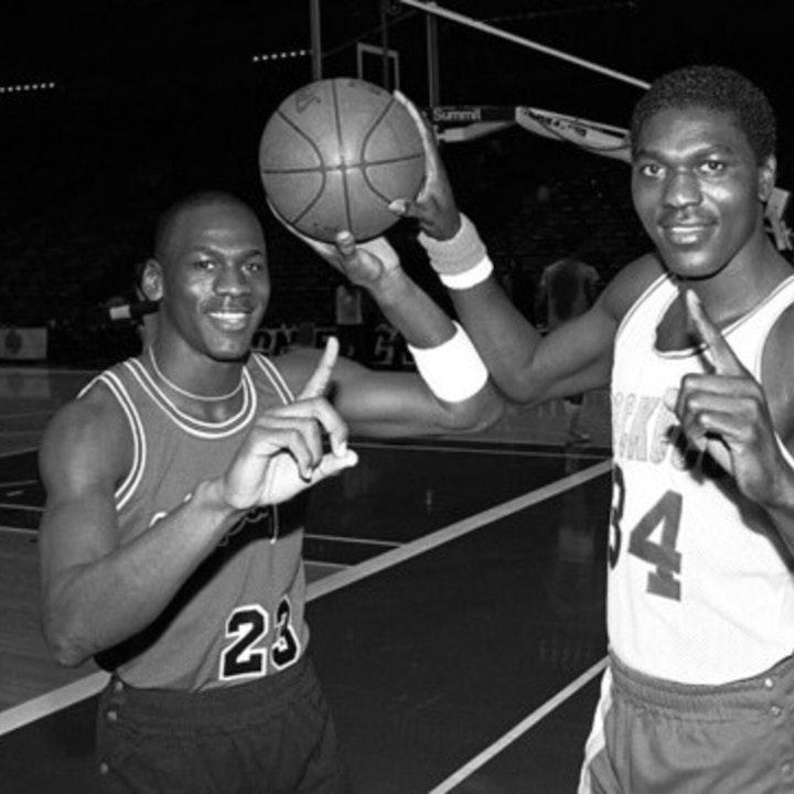 Michael Jordan's rookie NBA season – 1984 USA Olympic Training Camp / 1984 Draft - NB85-2