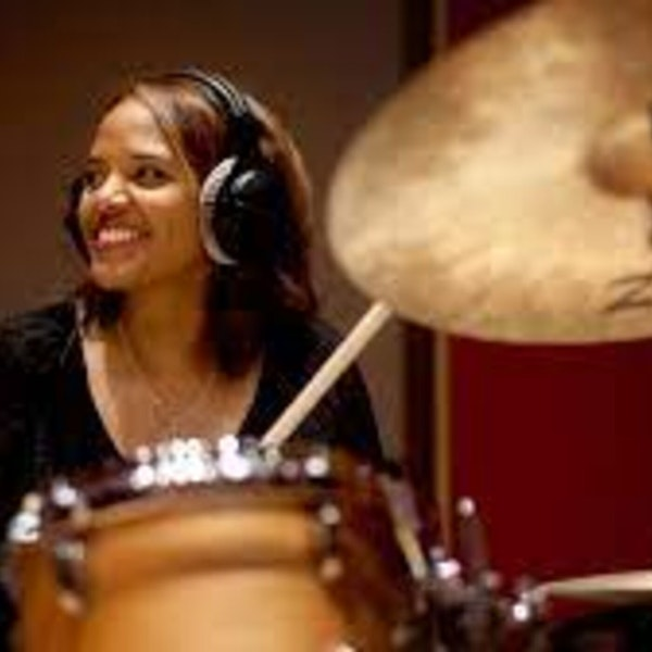 Episode 9 - A conversation with three-time Grammy Award winner, drummer Terri Lyne Carrington, and her work with the Institute of Jazz and Gender Justice. Image