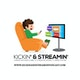 Kickin & Streamin Podcast Album Art