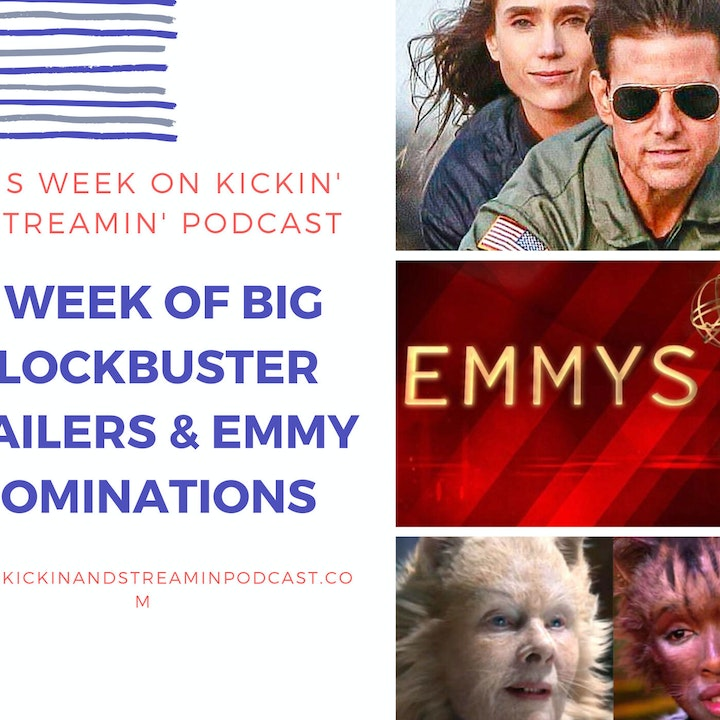 Ep. 24.- A Week Of Blockbuster Trailers & Emmy Nominations