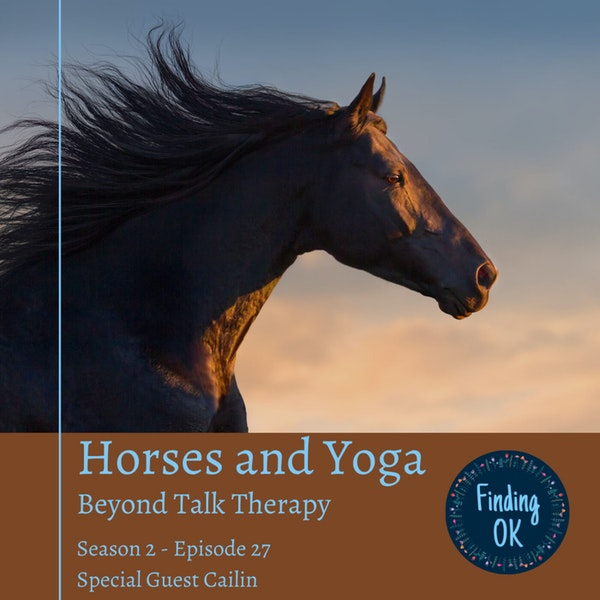 Horses and Yoga - Beyond Talk Therapy Image