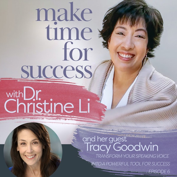 Transform Your Speaking Voice into a Powerful Tool for Success with Tracy Goodwin Image