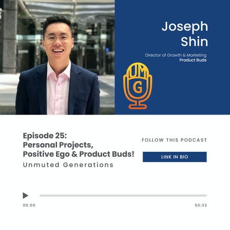 Joseph Shin: Personal Projects & Positive Ego with the Director of Product Buds Image