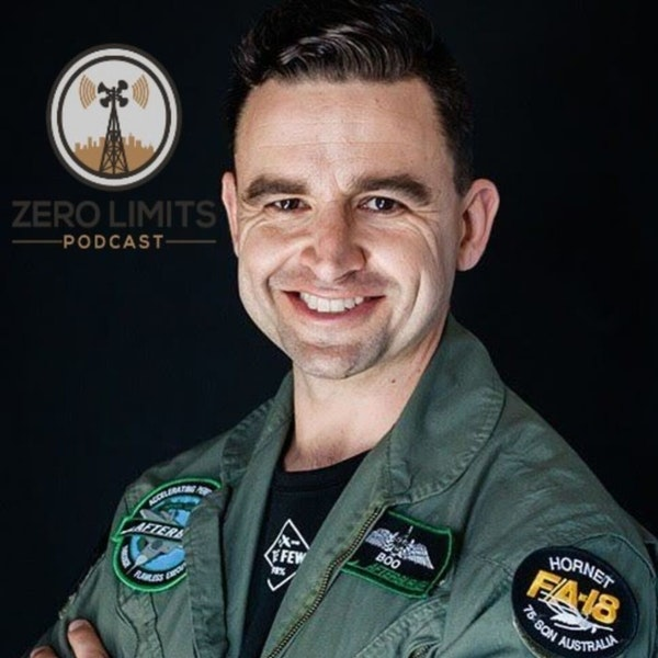 """Ep. 29 Christian """"Boo"""" Boucousis former RAAF Fighter Pilot and Professional Speaker Image"""