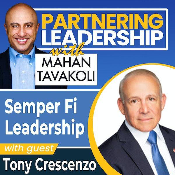 Semper Fi leadership with Intelligent Waves President  Tony Crescenzo| Changemaker Image