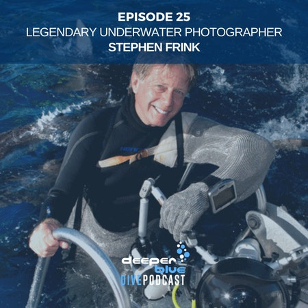 Legendary Underwater Photographer Stephen Frink On How Dolphins May Have Saved His Life, and New Jellyfish Discovered! Image
