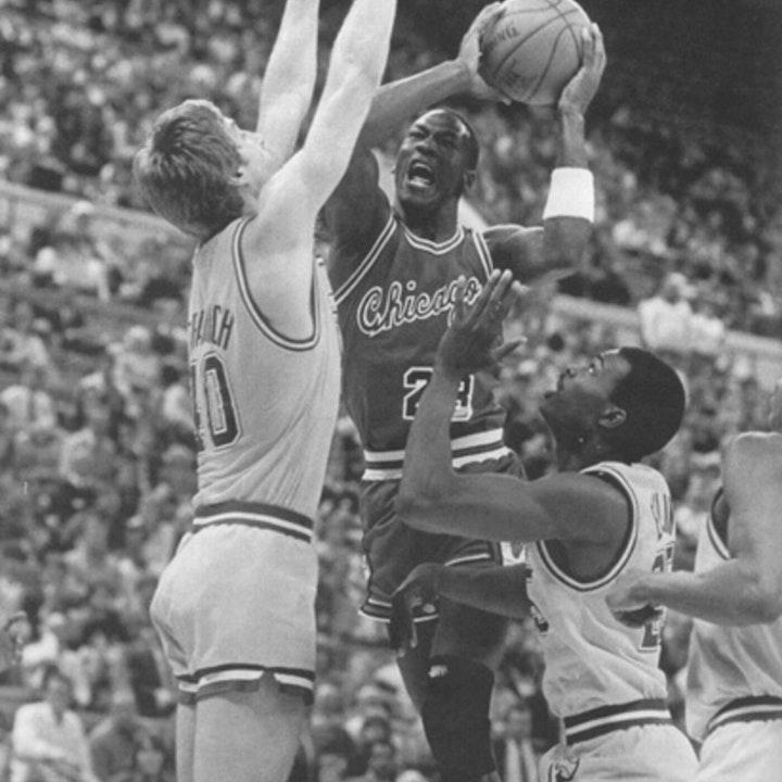 Michael Jordan's rookie NBA season - March 25 through April 14, 1985 - NB85-25