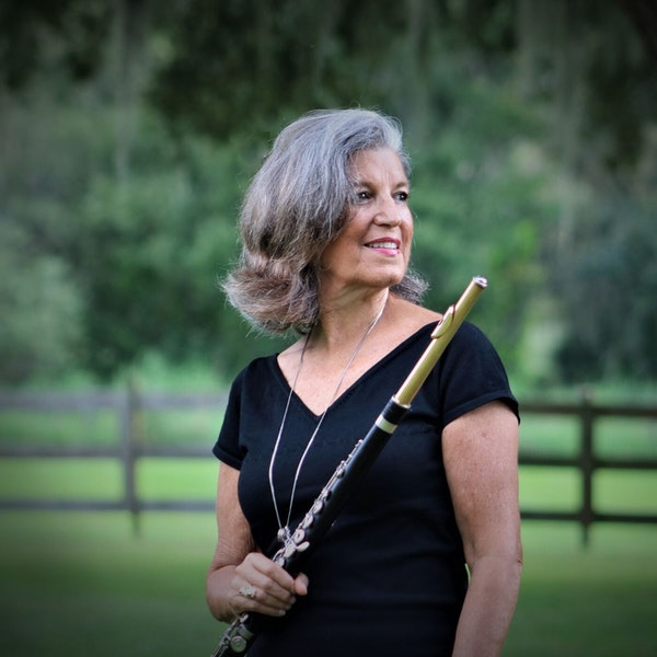 Dr. Jane Hoffman, Principal Flutist for the Pops Orchestra and Instructor of Flute at SCF, Joins the Club Image