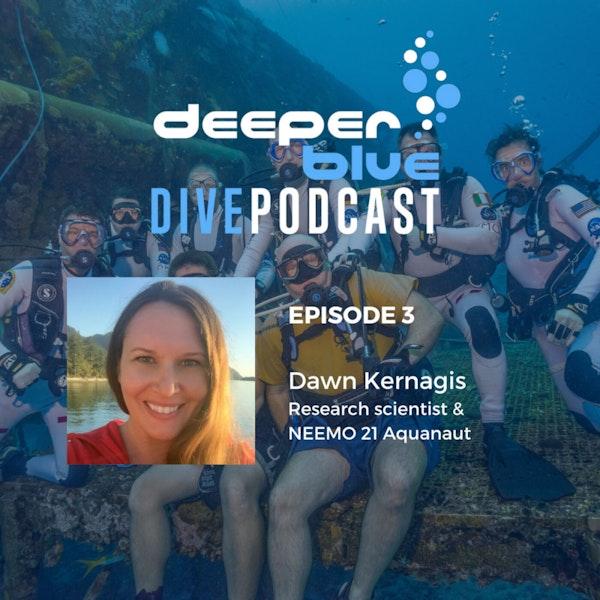 How We Go Diving Again, and NEEMO Aquanaut Dawn Kernagis Image