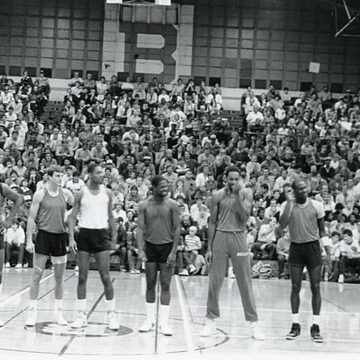 Michael Jordan's second NBA season - pre-draft / 1985 Draft, 1985-86 Bulls training camp and preseason games - NB86-1