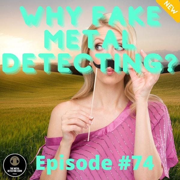 Why Fake Metal Detecting? Image