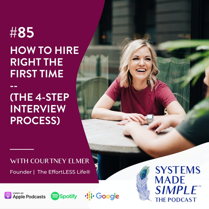 The 4-Step Interview Process: How to Hire Right The First Time