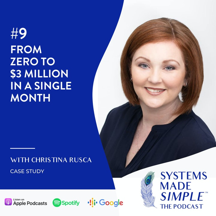 From Zero to $3 Million in Sales in a Single Month with Christina Rusca