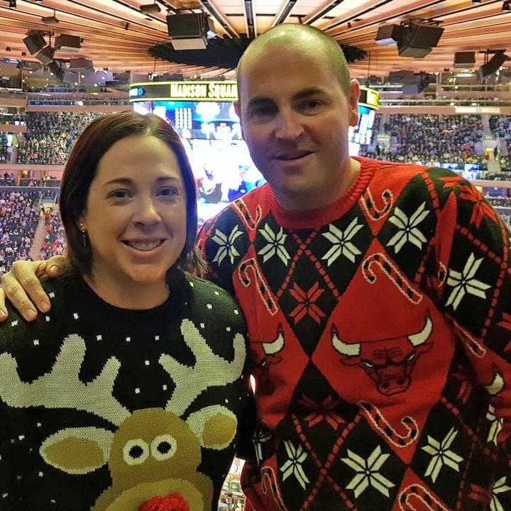 Adam and Lisa's USA holiday - Christmas Day NBA, meeting Bernard King and more - AIR080