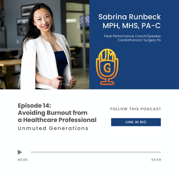 Sabrina Runbeck - Avoiding Burnout from a Healthcare Professional Image
