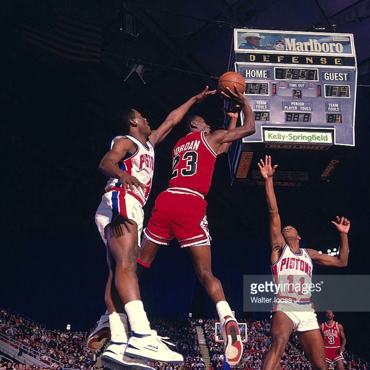Michael Jordan's third NBA season - March 1 through 15, 1987 - NB87-10
