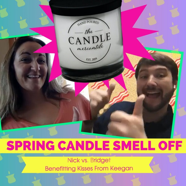 Spring Candle Smell Off Competition | Dinner Plus Drinks Podcast Image