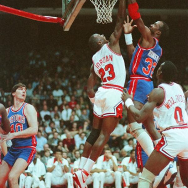 Michael Jordan's rookie NBA season - December 10 through 24, 1984 - NB85-14 Image
