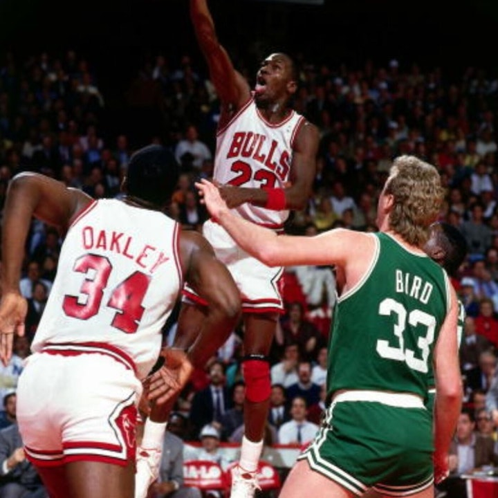 Michael Jordan's third NBA season - October 31 through November 15, 1986 - NB87-2