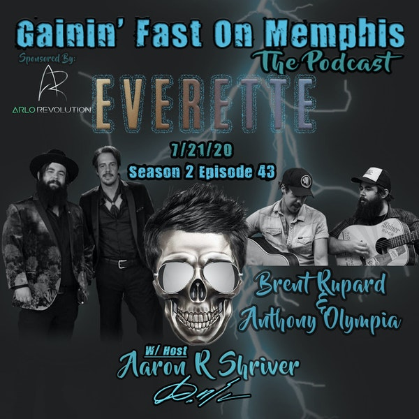 Brent Rupard & Anthony Olympia | EVERETTE (Singer/Songwriters) Image