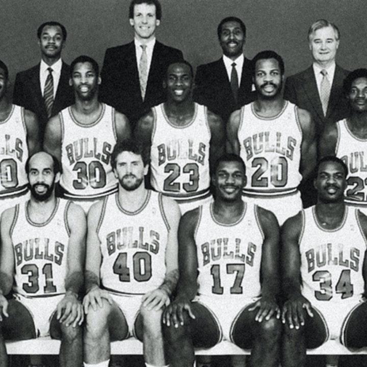 Michael Jordan's third NBA season - pre-draft / 1986 Draft, 1986-87 Bulls training camp and preseason games - NB87-1