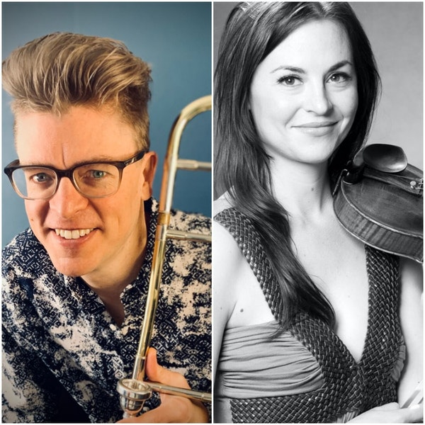 Nate and Erin Mayland, Broadway Orchestra Musicians for Beetlejuice and Hamilton, Join the Club Image