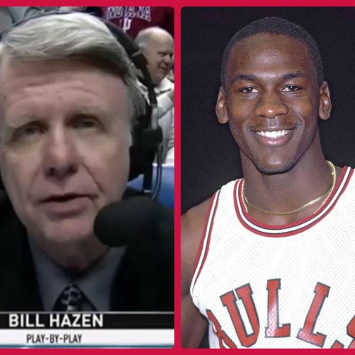 Michael Jordan's rookie NBA season - Guest: Bill Hazen (broadcaster) - 1985 series finale - NB85-30