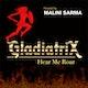 Gladiatrix! Hear me Roar! Album Art