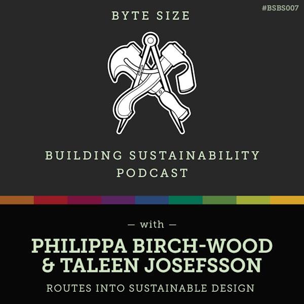 ByteSize - Routes into Sustainable Design - Philippa Birch-Wood & Taleen Josefsson - BSBS007 Image