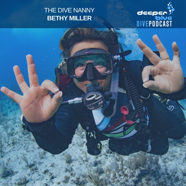 """Bethy """"Dive Nanny"""" Miller on how she saw diving transform one boy's life, and Freediver Nathan Lucas on practice, practice, and more practice Image"""