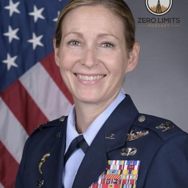 """Ep. 23 Col. Kim """"Killer Chick"""" Campbell Retired A - 10 Warthog Pilot Image"""