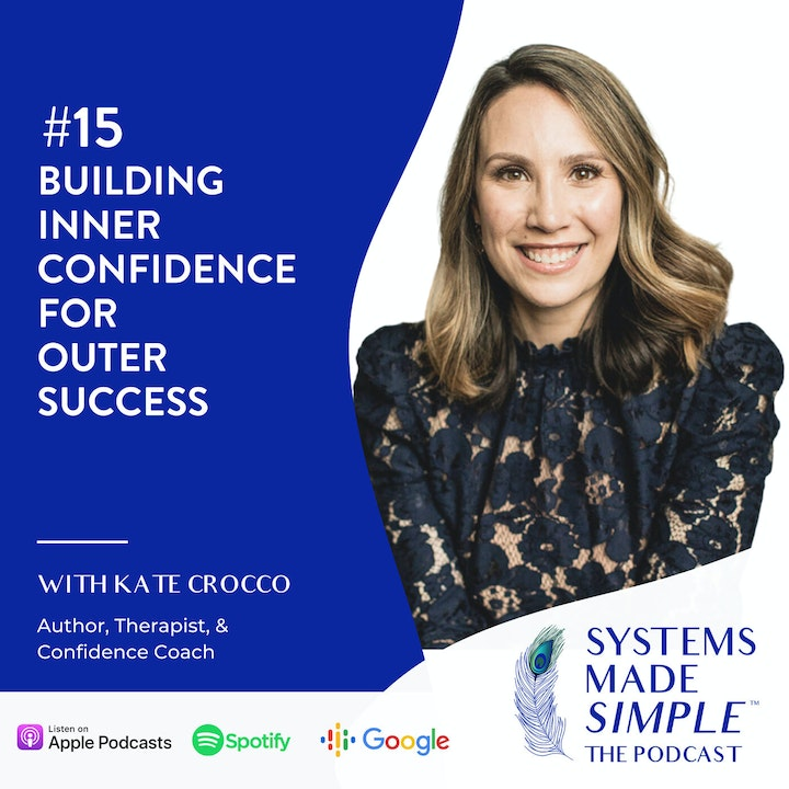 Building Inner Confidence for Outer Success w/ Kate Crocco