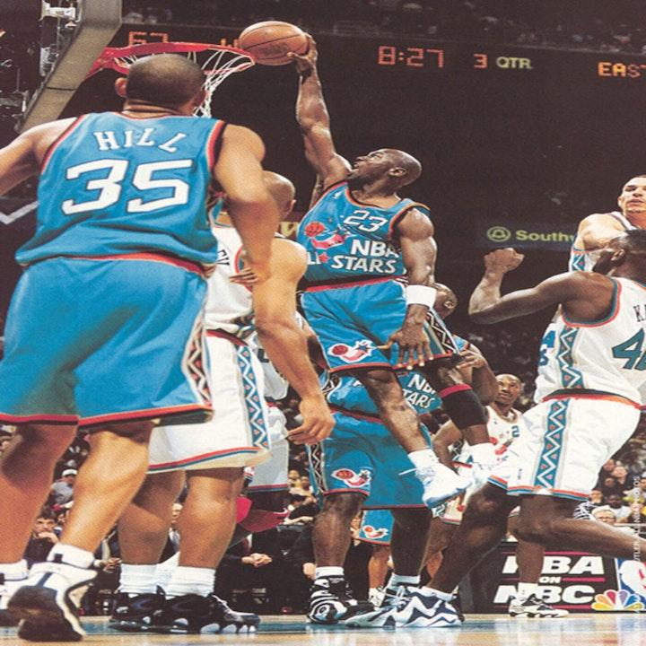 1995-1998 NBA All-Star Games - AIR022