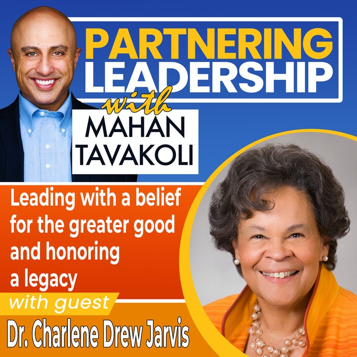 Leading with a belief for the greater good and honoring a legacy with Dr. Charlene Drew Jarvis   Greater Washington DC DMV Changemaker